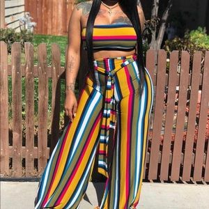 Multi color 2 piece